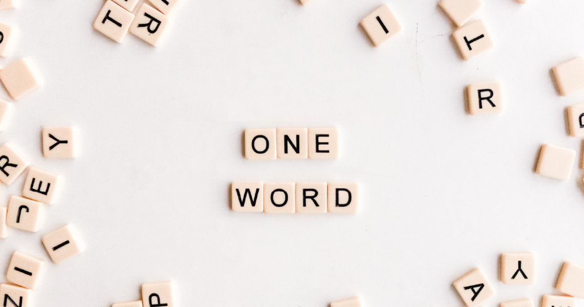Ann Barnes One Word