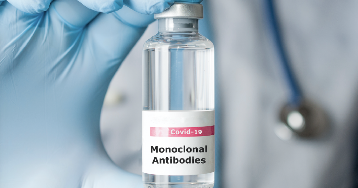 Monoclonal antibody infusion therapy